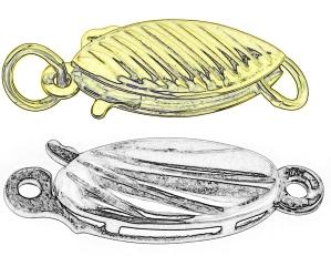 silver 12mm hook