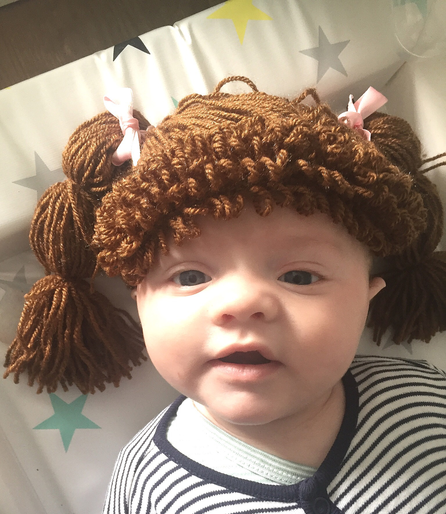Cabbage Patch Crochet Wigs – Anna\'s Pearl and Bead Restringing